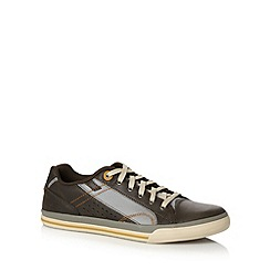 Skechers - Charcoal 'Diamond Back Trevor' trainers