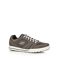 Skechers - Near black 'Arcade 2 Lounging' trainers