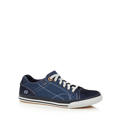 Skechers - Navy +Diamondback Levon+ trainers