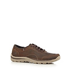 Skechers - Brown 'Superior Harvin' trainers