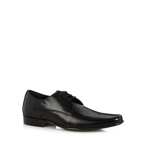 Thomas Nash - Black leather lace up shoes