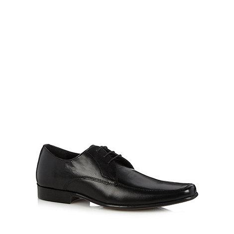 Thomas Nash - Black leather lace up shoes
