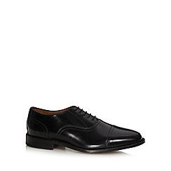 Hammond & Co. by Patrick Grant - Designer black leather toe cap shoes
