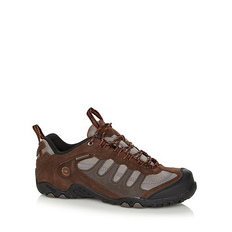 Hi-Tec - Chocolate mesh upper shoes