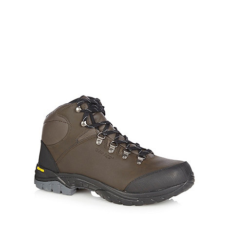 Hi-Tec - Brown leather waterproof walking boots