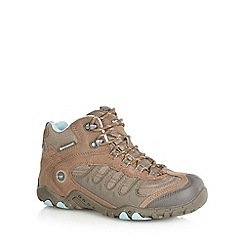 Hi-Tec - Brown mesh upper boots