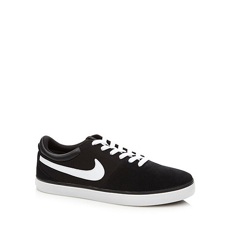 Nike - Black leather +Rabona LR+ trainers
