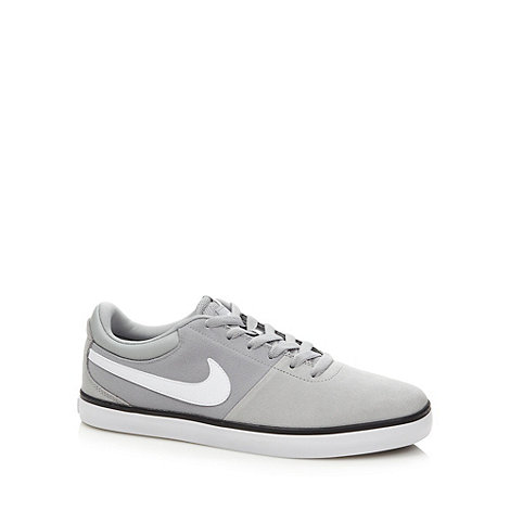 Nike - Light grey leather +Rabona LR+ trainers