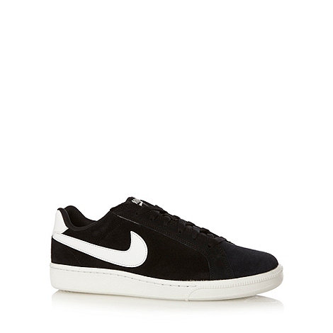Nike - Black +Court Majestic+ leather trainers