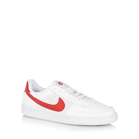 Nike - White +Grand Terrace+ leather trainers