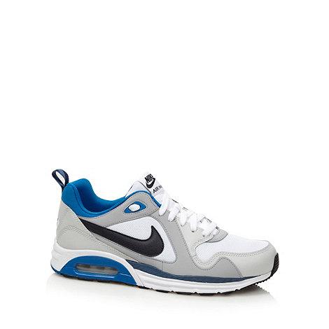 Nike - White +Air Max Trax+ trainers
