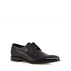 Loake - Black 'Soren' patent Derby shoes