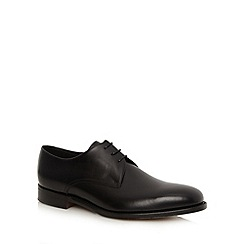 Loake - Black plain Derby shoes