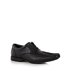 Clarks - Black 'Forbes' lace up shoes