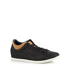 Puma - Black 'Lopro Tarrytown' trainers