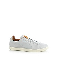 Puma - Grey 'Modern Court' trainers