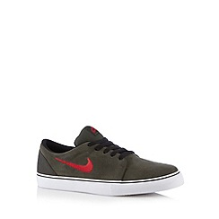 Nike - Olive 'Satire Q4' lace up trainers