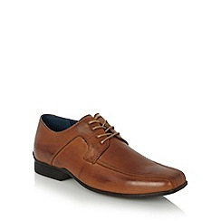 Hush Puppies - Tan leather lace up oxford brogues