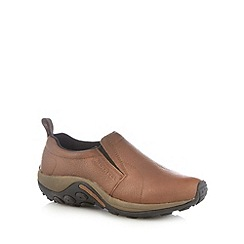 Merrell - Brown leather moccasins