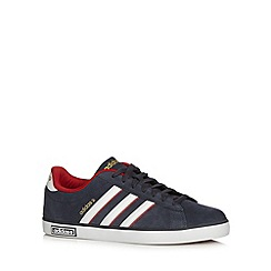 adidas - Navy 'Coderby' suede trainers