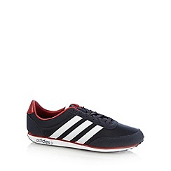adidas - Navy 'Racer Vylon' striped trainers