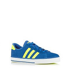 adidas - Blue 'Daily Vulc' lace up trainers
