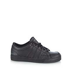 adidas - Black 'Bbneo Skool Lo' sole trainers