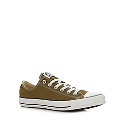 Converse - Green low top trainers