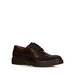 RJR.John Rocha - Dark brown lace-up brogues
