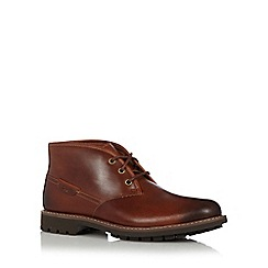 Clarks - Brown 'Montacute Duke' boots