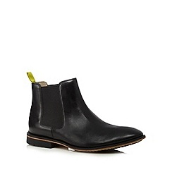 Clarks - Black leather 'Gatley Top' chelsea boots