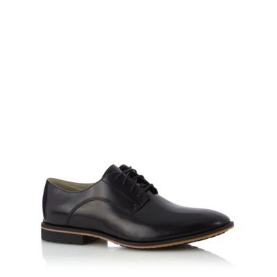 Clarks Black leather ´Gatley Walk´ shine lace up shoes - . -