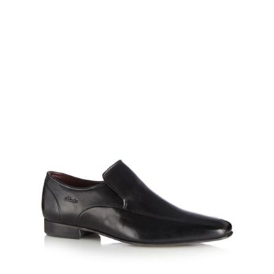 Clarks Black leather ´Chilton Work´ shoes - . -