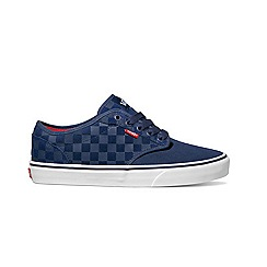 Vans - Atwood suede blue trainers