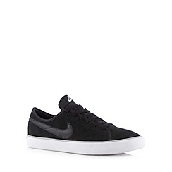 Nike - Black suede 'Primo Court' trainers