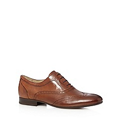 H By Hudson - Tan leather lace up brogues