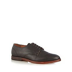 H By Hudson - Black leather lace up brogues