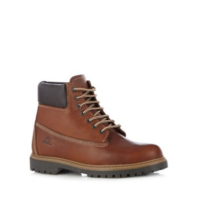 Chatham Marine Tan leather walking boots - . -