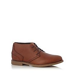 Chatham Marine - Tan leather chukka boots