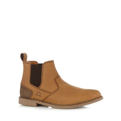 Chatham Marine Tan suede chelsea boots - . -