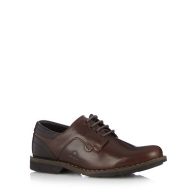 Chatham Marine Brown leather lace up shoes - . -