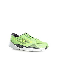Skechers - Neon lime 'GORun Ride 3 Nite Owl' trainers