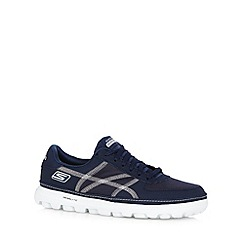Skechers - Navy 'On The Go Court' trainers