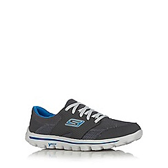 Skechers - Dark grey 'GOwalk 2-Stance' trainers
