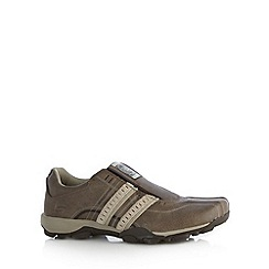 Skechers - Brown 'Urbantread Remote' trainers