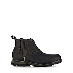 Skechers - Near Black 'Blaine Orson' leather boots