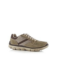 Skechers - Brown 'L-Fit' trainers