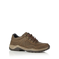 Rieker - Brown lace up walking boots