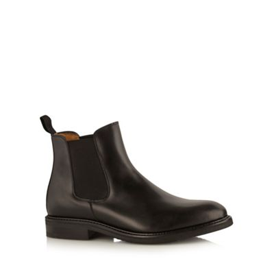 Berwick Black leather chelsea boots - . -