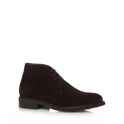 Berwick Chocolate suede chukka boots - . -